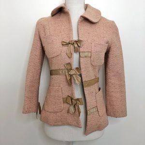 Tracy Reese Pink Tweed Jacket